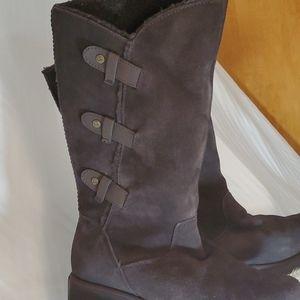 Bearpaw Brown Suede Boots Sz 7